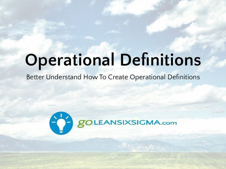 Best 20+ Operational definition ideas on Pinterest—no signup ...