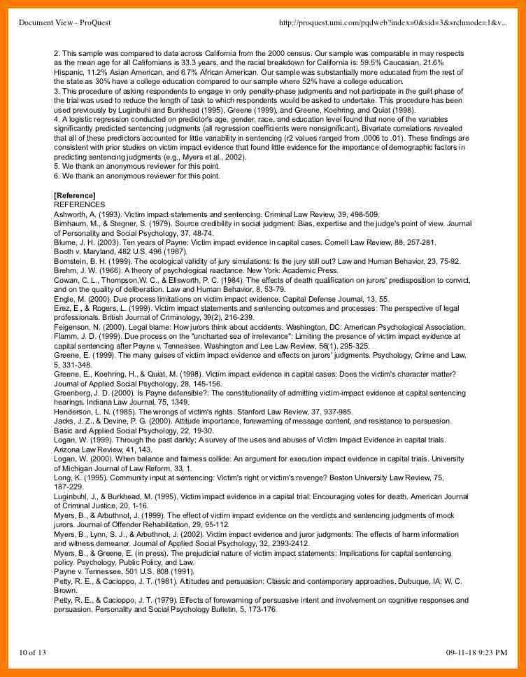 11+ impact statement template | park-attendant