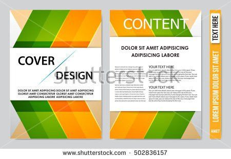 Cover Sheet Cover Note Book Cover Stock Vector 475098229 ...