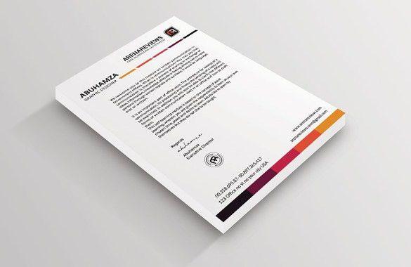 Free Letterhead Template – 14+ Free Word, PDF Format Download ...