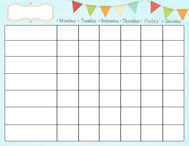 Free Printable Chore Charts for Kids   Job chart, Free printable ...