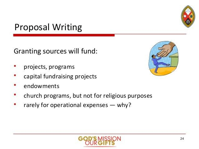 Stewardship Toolkit - Grant and Proposal-writing Slide Deck