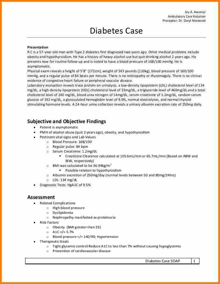 3+ example soap note | resume reference
