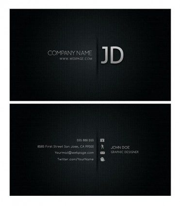 cool business card templates psd layered | Shervan | Pinterest ...