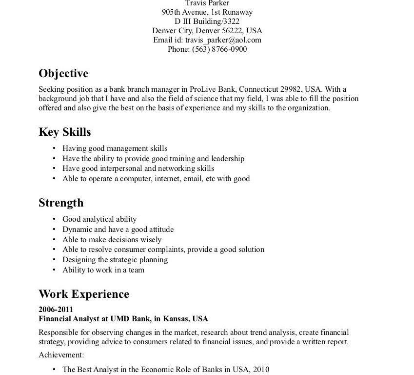 Hr Resumes Examples. resume for a generalist in human resources ...
