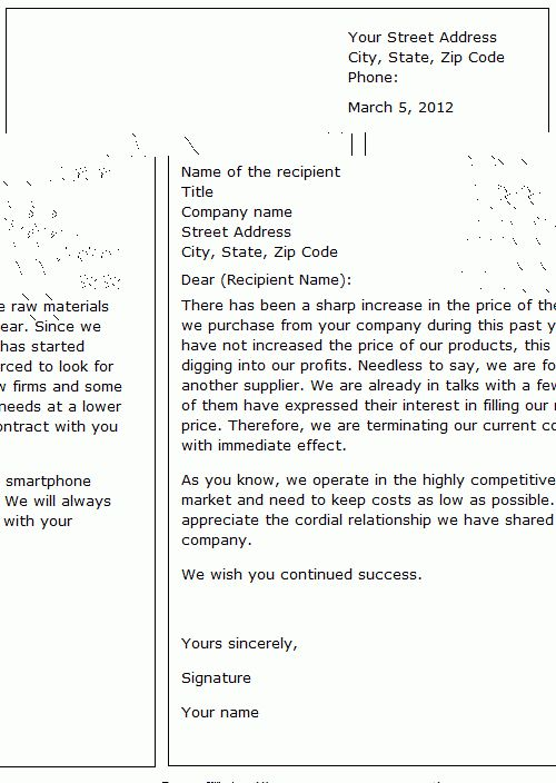 How To Write A Cover Letter How To Write Stuff for How To Sign Off ...