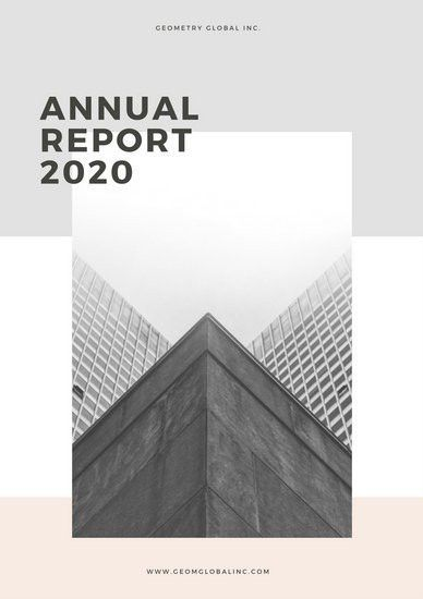 Annual Report Templates - Canva