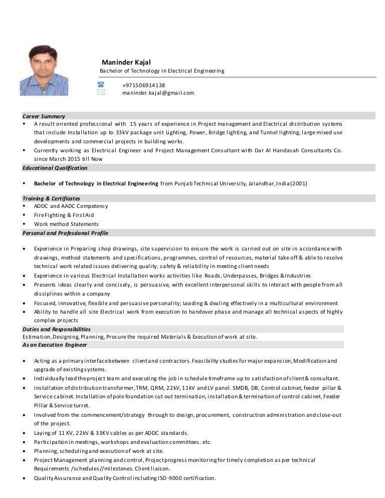 Maninder Kajal CV