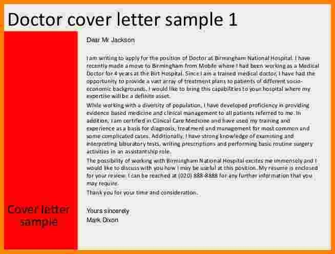 9 job application letter for doctors | ledger paper