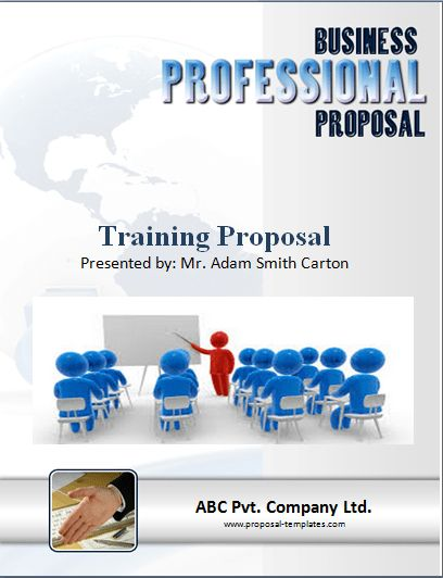 Sample Template Training Proposal | Proposal Templates