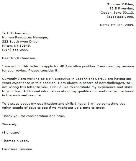 Executive Cover Letter Examples - Cover Letter Now