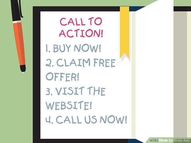 How to Write Ads: 7 Steps (with Pictures) - wikiHow