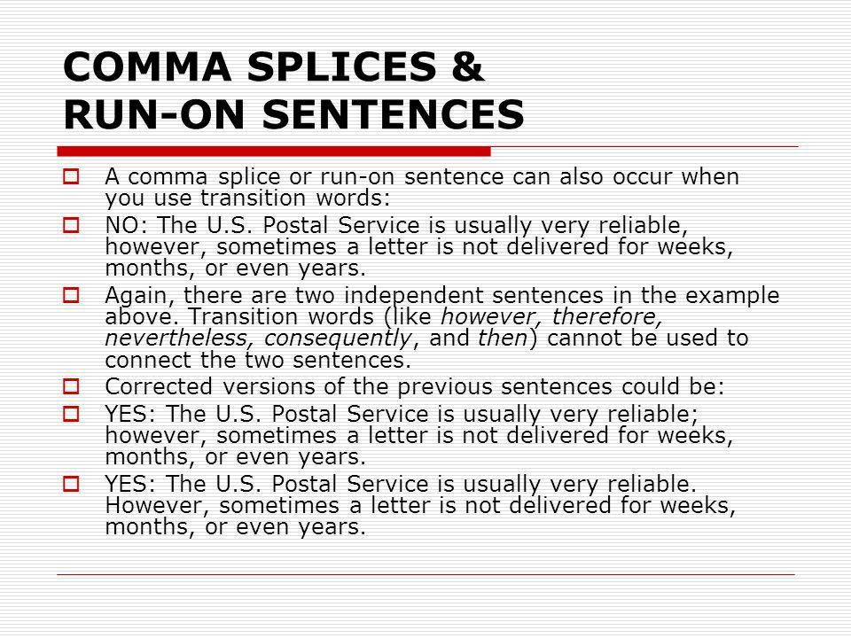Combating the comma splice richard gilbertrichard gilbert – Comma Splices Worksheet