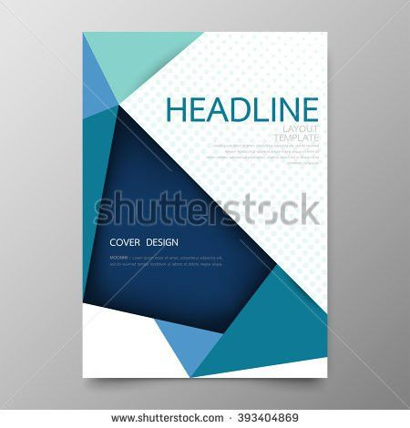 Modern Annual Report Cover Design Vector Stock Vector 289291640 ...