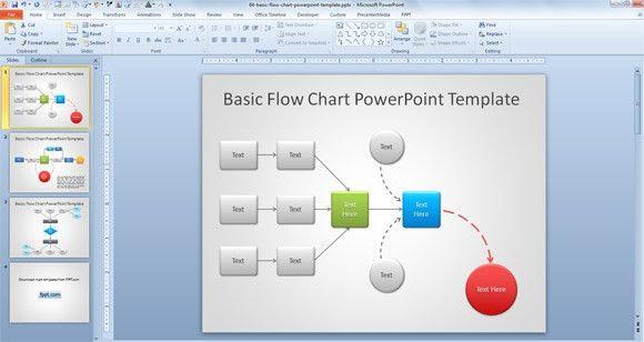 Free Powerpoint Flowchart Templates - Casseh.info