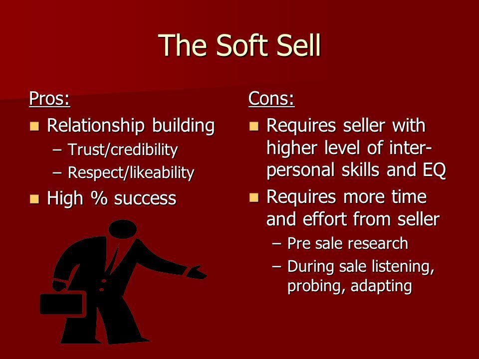 Hard vs. Soft Selling When to Pitch and When to Seduce - ppt video ...