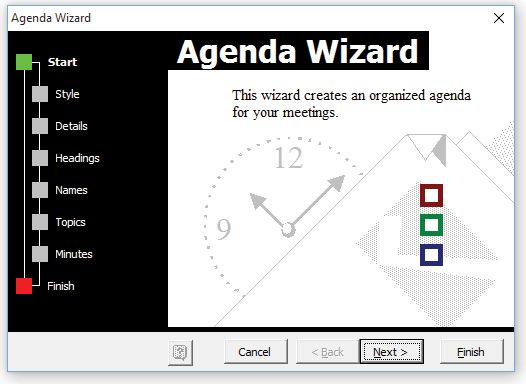 Agenda Template - Keep Your Meeting Organized