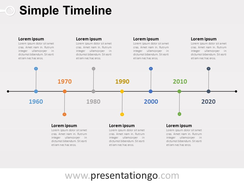 Free Timelines PowerPoint Templates - PresentationGo.com
