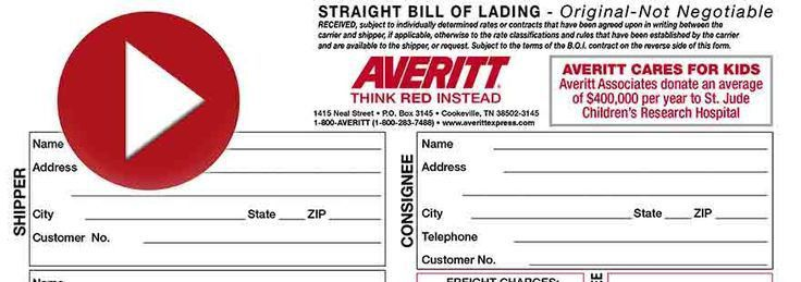 Free Printable Bill Of Lading Legal Forms | Free Legal Forms ...