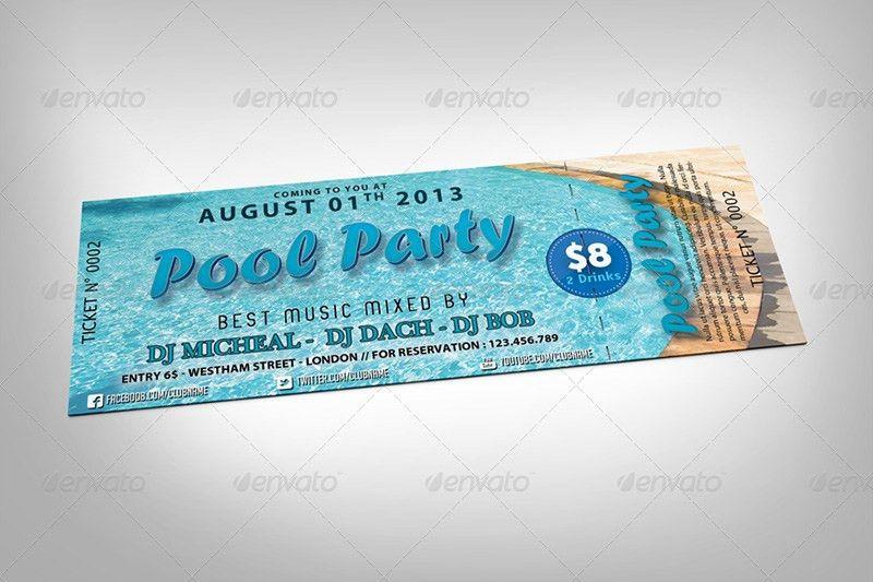 15+ Free Event Ticket Mockups | PSDTemplatesBlog