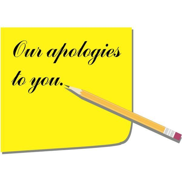Business Apology Letter Sample - The Role, Building Blocks, Timing ...