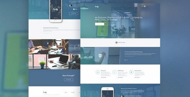 Best of 2015: 100 Best Free HTML and CSS Themes | NOUPE