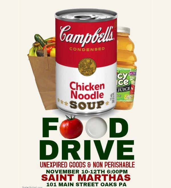 18+ Food Drive Flyer Designs - PSD, Vector EPS, JPG Download ...
