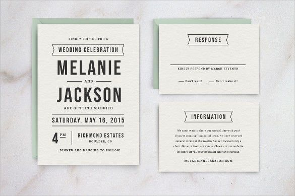 Free Wedding Invitation Templates Word - Kmcchain.info