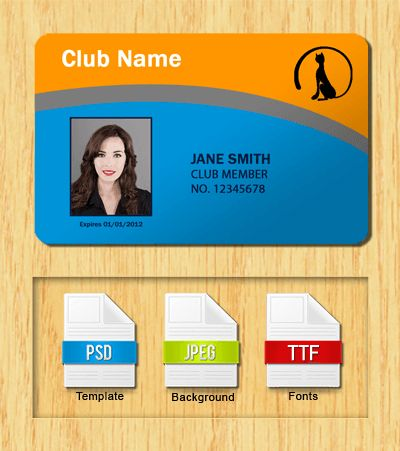 Membership ID Templates - Free Download