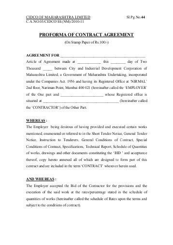 Development Agreement Contract. Simple Website Development ...