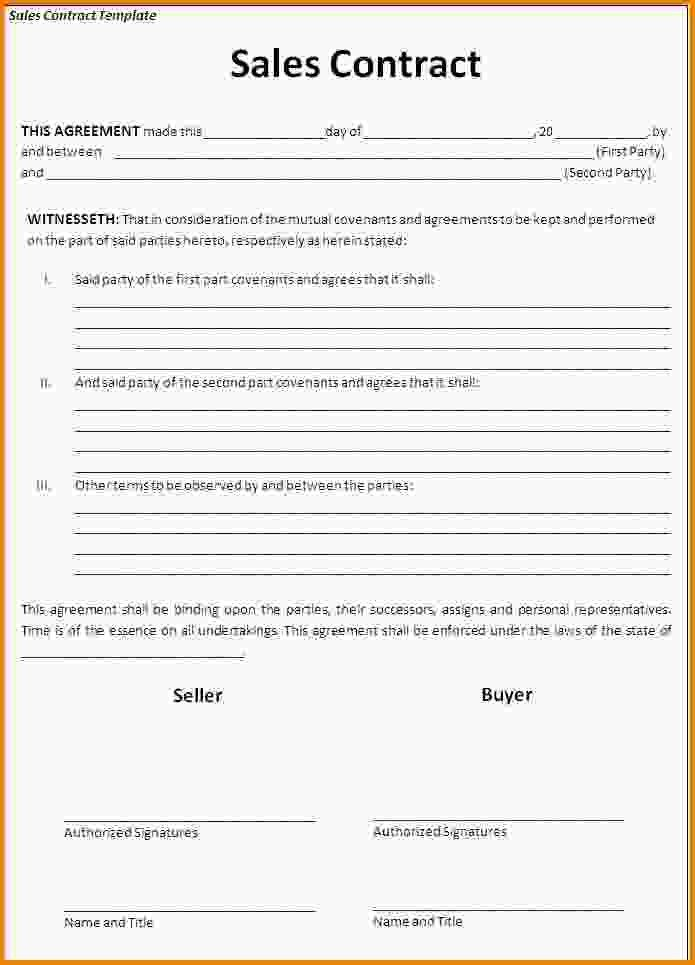 11+ contract agreement template | Letter Template Word
