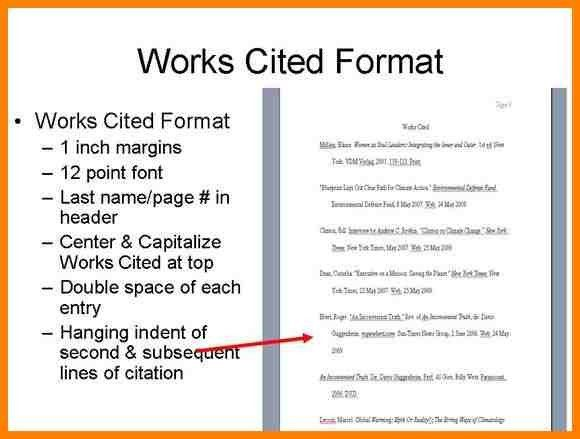 7+ mla 8 works cited page example | resume language