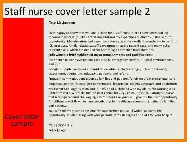5+ application letter for staff nurse | buyer resume