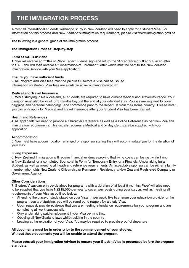 SAE INSTITUTE International student film enrolment form