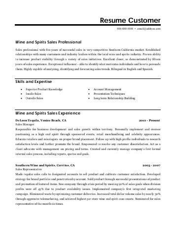 100+ [ Example Sales Resume ] | Free Resume Samples For Sales Job ...
