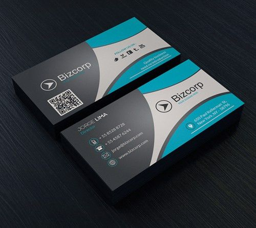 Modern Business Cards PSD Templates | Design | Graphic Design Junction