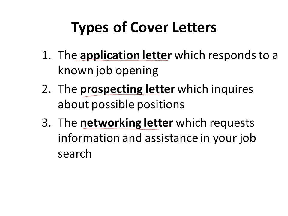 14 visit this website. 5 types of cover letters that will help ...