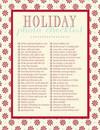 free printable + a roundup of Christmas ideas