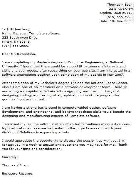 Programmer Cover Letter Examples with Programmer Cover Letter - My ...