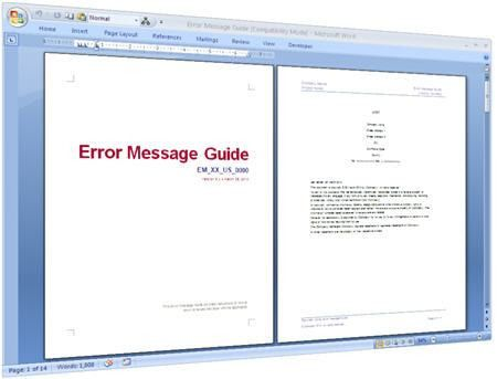 Software Manual Template. The Easiest Way To Create Online User ...