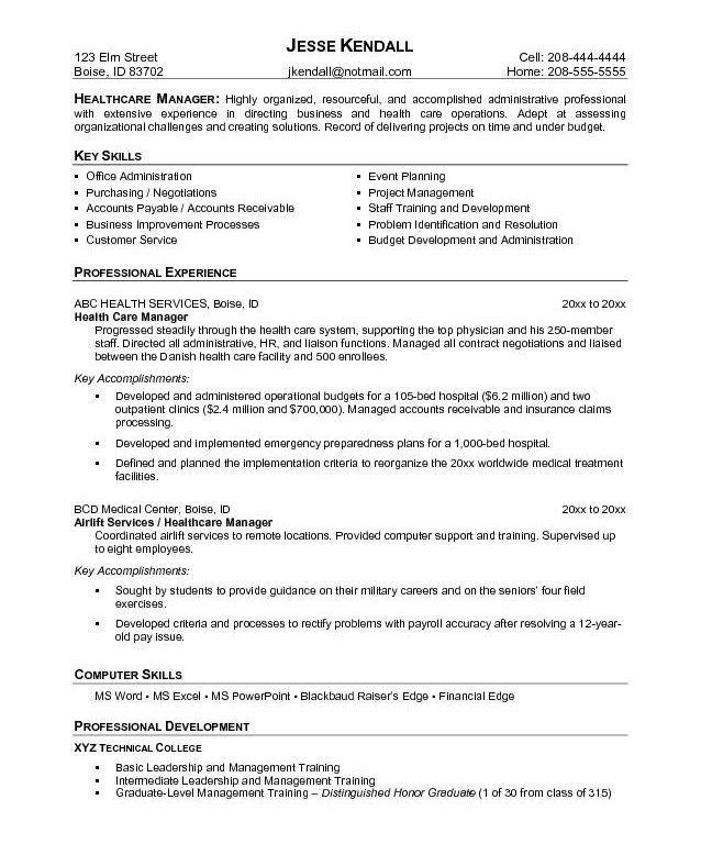 Impressive Medical Resume Templates 3 Doc.585681 Template ...
