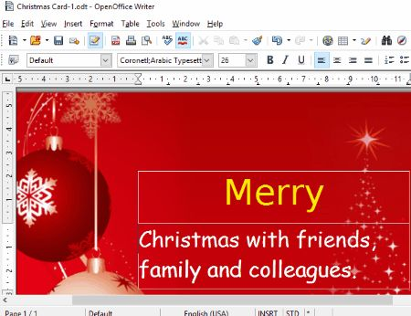 4 Best Free Christmas Card Maker Software For Windows