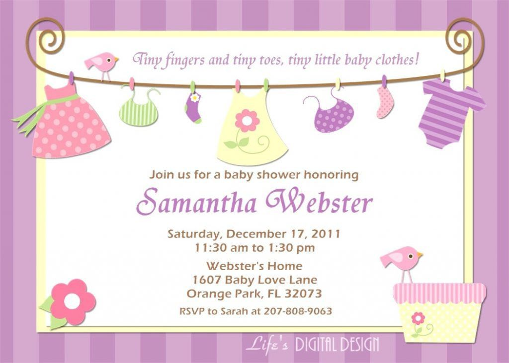 Designs Baby Shower Invite Template Sample Invitations : mughals