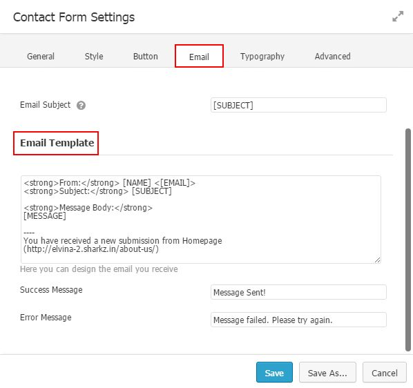 How to Design the Email Template to Receive User Information ...