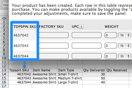 Topspin Fulfillment Packing Slip – Find Answers