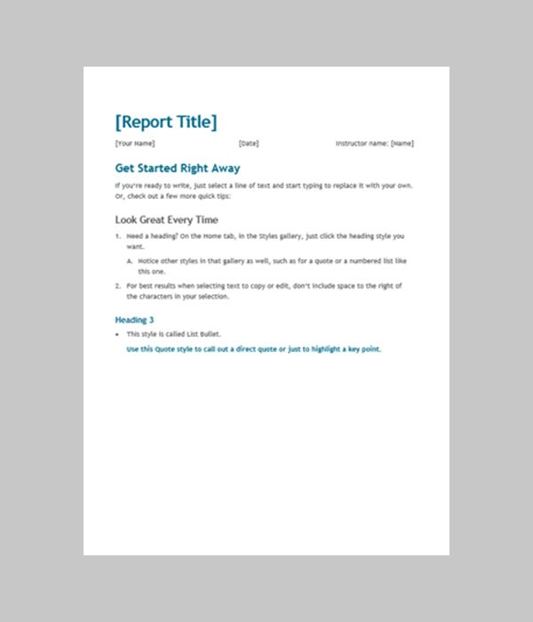 12 Best Free Download MS Word Format Templates | Free & Premium ...