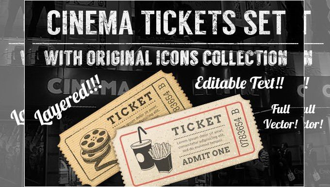 21+ Free Movie Ticket Templates - Creative Template   Creative ...