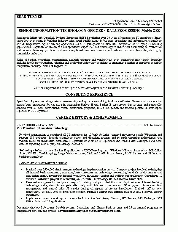 Good Sample Resume Good Resume Sample Free Resumes - Resume Templates