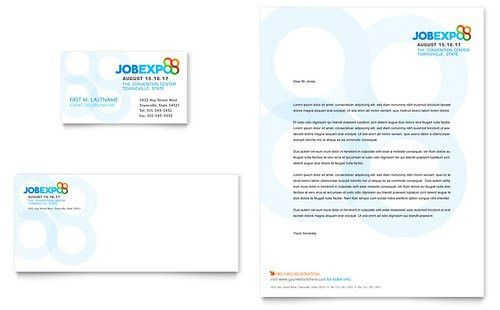 Business Events Letterheads | Templates & Designs