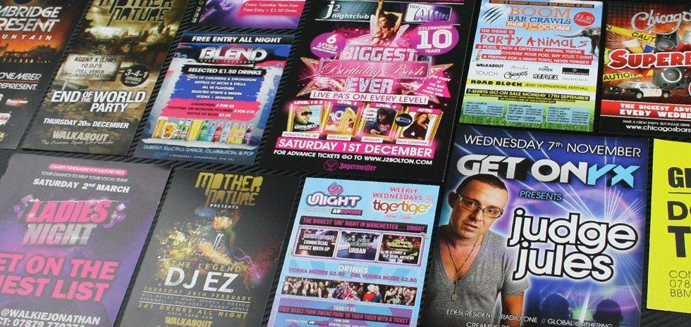 Nightclub Flyer Printing